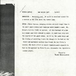 Image for K1264 - Alan Burroughs report, circa 1930s-1940s