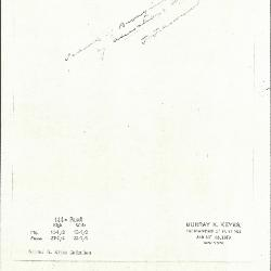 Image for K0124 - Expert opinion by Perkins, circa 1920s-1940s