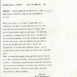 Image for K1268 - Alan Burroughs report, circa 1930s-1940s