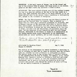 Image for K0126 - Alan Burroughs report, circa 1930s-1940s