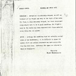 Image for K1275 - Alan Burroughs report, circa 1930s-1940s