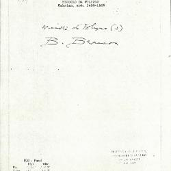 Image for K1284 - Expert opinion by Berenson, circa 1920s-1950s