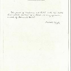 Image for K1290 - Expert opinion by Longhi, circa 1920s-1950s