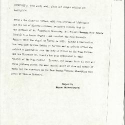 Image for K1292 - Alan Burroughs report, circa 1930s-1940s