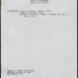 Image for K0013 - Art object record, circa 1930s-1950s