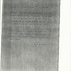 Image for K1294 - Alan Burroughs report, circa 1930s-1940s