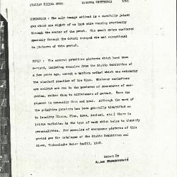 Image for K1301 - Alan Burroughs report, circa 1930s-1940s