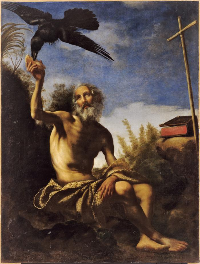 Image for Saint Paul the Hermit Fed by the Raven