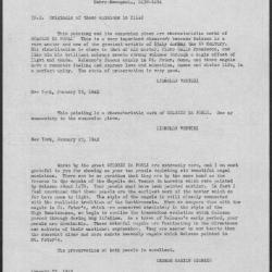 Image for K1329 - Expert opinion by L. Venturi et al., 1942