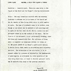 Image for K1355A - Alan Burroughs report, circa 1930s-1940s