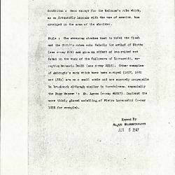 Image for K1354 - Alan Burroughs report, circa 1930s-1940s