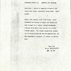 Image for K1371 - Alan Burroughs report, circa 1930s-1940s