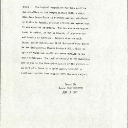 Image for K1372 - Alan Burroughs report, circa 1930s-1940s