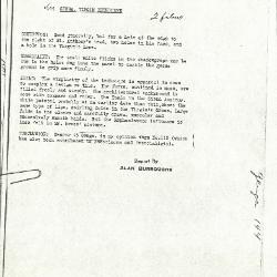 Image for K0144 - Alan Burroughs report, circa 1930s-1940s