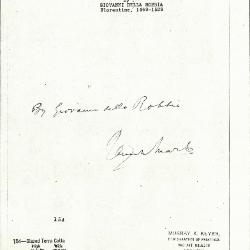 Image for K0154 - Expert opinion by Marle, circa 1920s-1930s