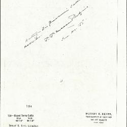 Image for K0154 - Expert opinion by Perkins, circa 1920s-1940s