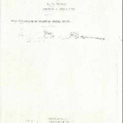 Image for K0150 - Expert opinion by Berenson, circa 1920s-1950s