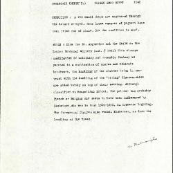 Image for K1540 - Alan Burroughs report, circa 1930s-1940s