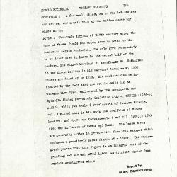 Image for K0153 - Alan Burroughs report, circa 1930s-1940s