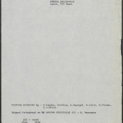 Image for K0153 - Art object record, circa 1930s-1950s