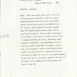 Image for K1542 - Alan Burroughs report, circa 1930s-1940s