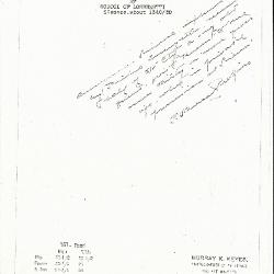 Image for K0157 - Expert opinion by Perkins, circa 1920s-1940s