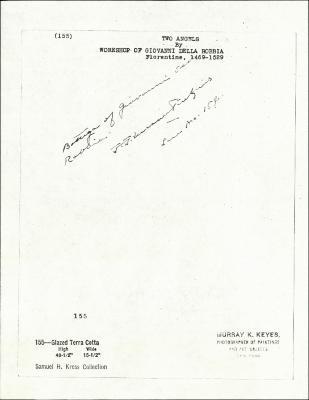 Image for K0155 - Expert opinion by Perkins, circa 1920s-1940s