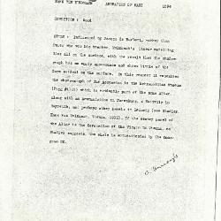 Image for K1594 - Alan Burroughs report, circa 1930s-1940s