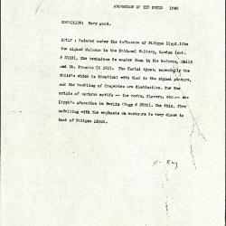 Image for K1580 - Alan Burroughs report, circa 1930s-1940s