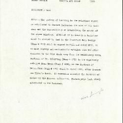 Image for K1595 - Alan Burroughs report, circa 1930s-1940s