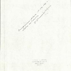 Image for K0159 - Expert opinion by Perkins, circa 1920s-1940s