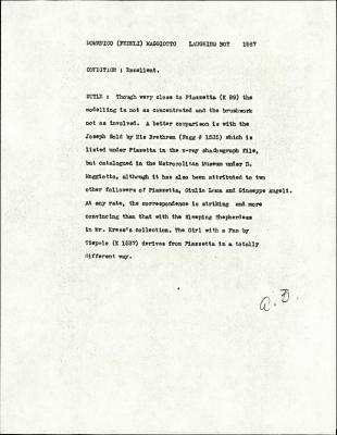 Image for K1587 - Alan Burroughs report, circa 1930s-1940s