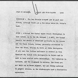 Image for K1584 - Alan Burroughs report, circa 1930s-1940s
