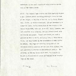 Image for K1581 - Alan Burroughs report, circa 1930s-1940s