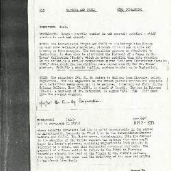 Image for K0162 - Alan Burroughs report, circa 1930s-1940s