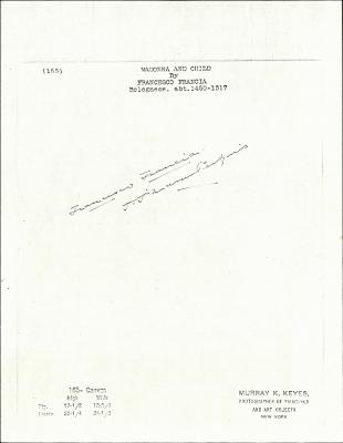 Image for K0165 - Expert opinion by Perkins, circa 1920s-1940s