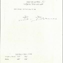 Image for K0165 - Expert opinion by Berenson, circa 1920s-1950s
