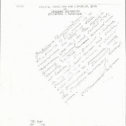 Image for K0162 - Expert opinion by Perkins, circa 1920s-1940s