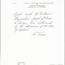 Image for K0162 - Expert opinion by Fiocco, circa 1930s-1940s