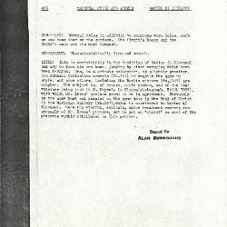 Image for K0168 - Alan Burroughs report, circa 1930s-1940s