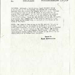 Image for K0174 - Alan Burroughs report, circa 1930s-1940s