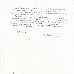 Image for K1731 - Expert opinion by Longhi, 1950