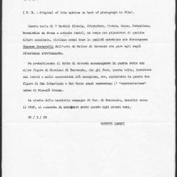 Image for K1743A - Expert opinion by Longhi, 1950