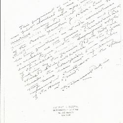 Image for K0174 - Expert opinion by Perkins, circa 1920s-1940s