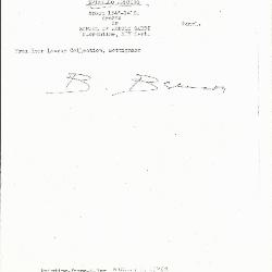 Image for K0174 - Expert opinion by Berenson, circa 1920s-1950s