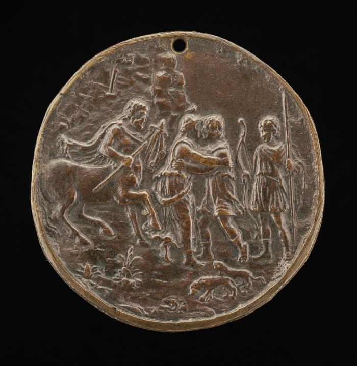 Image for Achilles Taking Leave of Thetis and Chiron