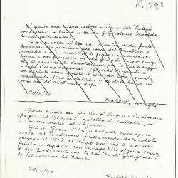 Image for K1798 - Expert opinion by Longhi, 1950