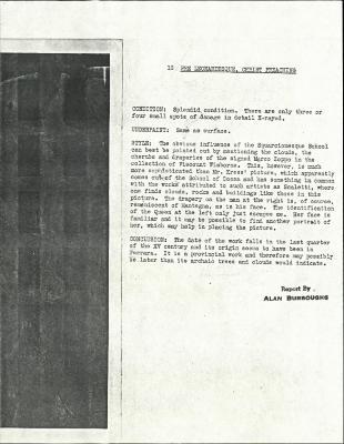 Image for K0018 - Alan Burroughs report, circa 1930s-1940s