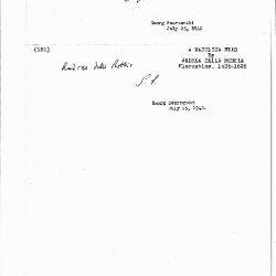Image for K0181 - Expert opinion by Swarzenski, 1940