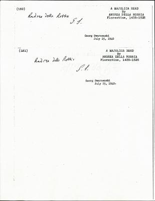 Image for K0182 - Expert opinion by Swarzenski, 1940